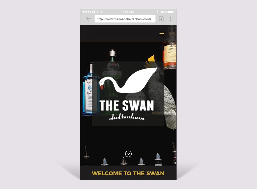 The Swan Cheltenham Mobile Friendly Website Design